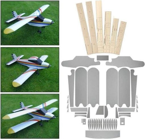 3-way - Laser Cut Wood & Depron Pack