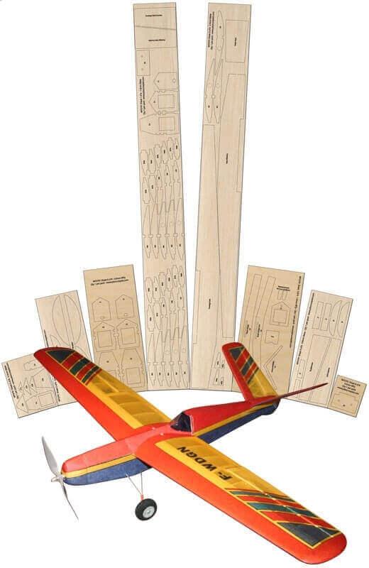 Widgeon X2 - Laser Cut Wood Pack