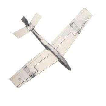 Quicksilver Model Aircraft Plan (RC1352)