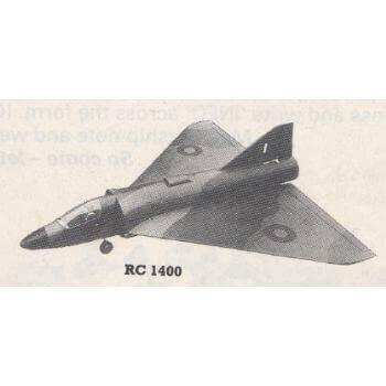Delta 1000 Model Aircraft Plan (RC1400)