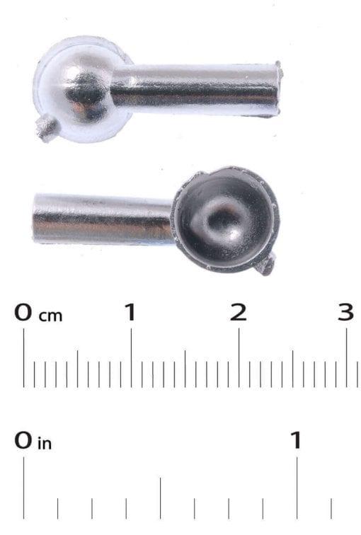 Cowl Vents x 2  H 20mm x 8mm