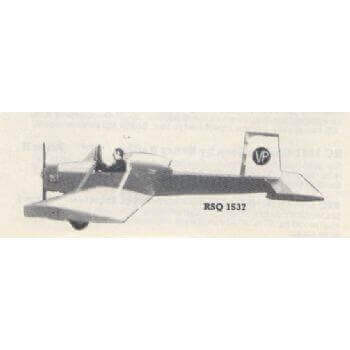Evans Volksplane Plan RSQ 1537
