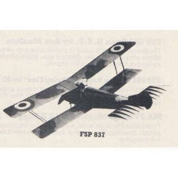 Hanriot HD-1 Plan FSP837