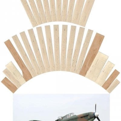 Boulton Paul Defiant Mk.1 - Laser Cut Wood Pack