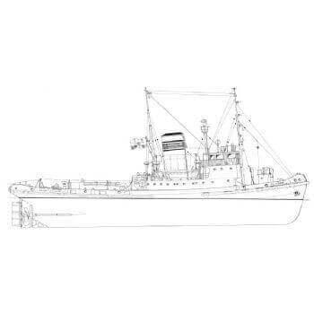 F C Sturrock Plan MM1480 Tug Plan