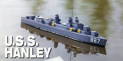USS Hanley Plan