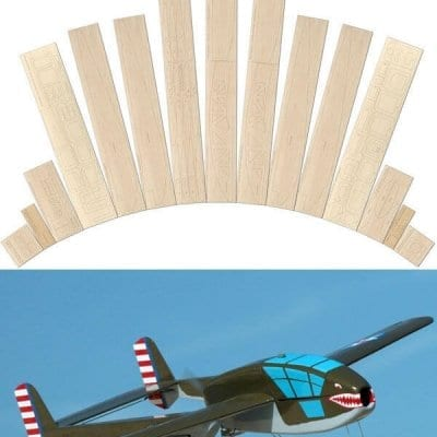 Bell XP-59 'Belle' - Laser cut wood pack