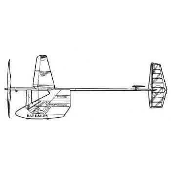 Daedalus Line Drawing 3085