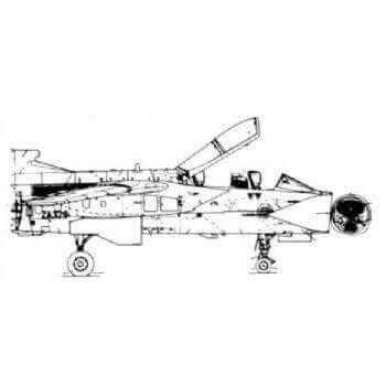 Tornado Line Drawing 3050