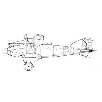 Albatros CX II Line Drawing 3017