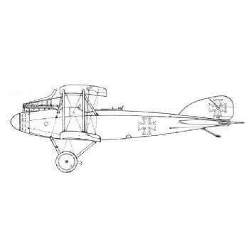 Albatros CX Line Drawing 3012