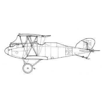 Albatros C IX Line Drawing 3011