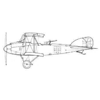 Albatros CV/16 Line Drawing 3003