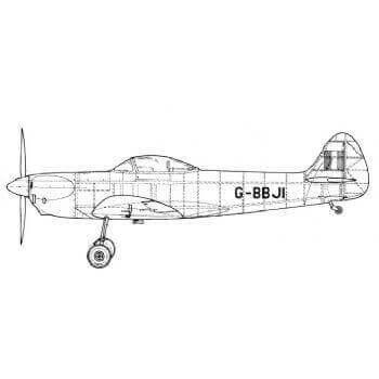 2981 Isaacs Spitfire Drawing