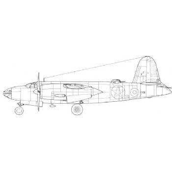 Marauder Line Drawing 2949