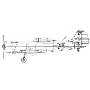 YAK 18 PM & PS Line Drawing 2918