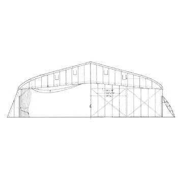 Bessonneau Hanger Line Drawing 2909