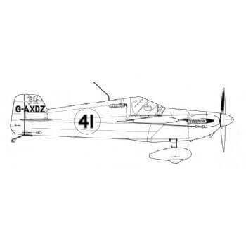 Airmark Cassutt (FG) Line Drawing 2905