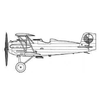 Avia BH 33 Line Drawing 2902