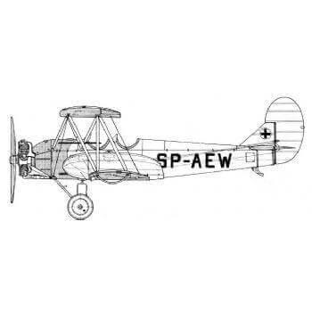 Polikarpov PO2 Line Drawing 2893