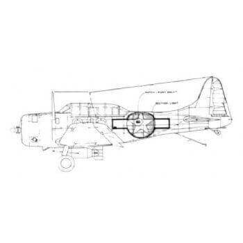 2872 SBD5 Dauntless Drawing