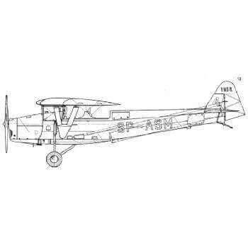 RWD 8 Line Drawing 2871