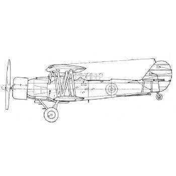 Blackburn Shark Mks. I,II,III Line Drawing 2855