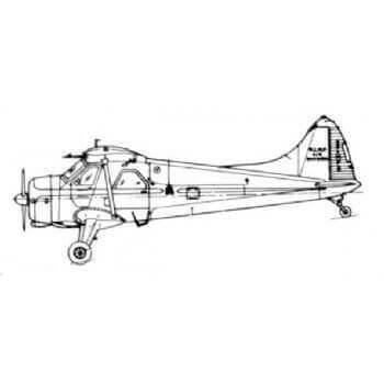 De Havilland C.2 Beaver Line Drawing 2820