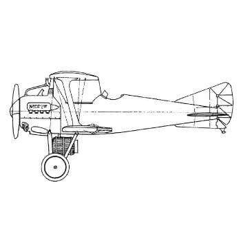 Gloster 'Bamel' Line Drawing 2798