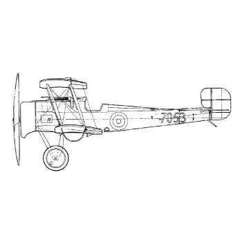 Bristol Scout D Line Drawing 2792