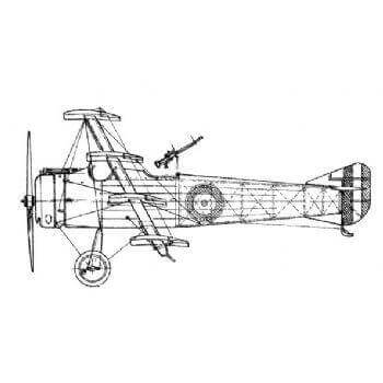 Armstrong Whitworth FK10 Line Drawing 2780
