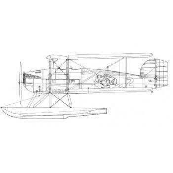 Douglas DWC World Cruiser Line Drawing 2777