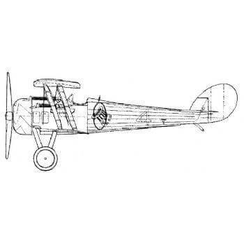 Nieport 28 C-1 Line Drawing 2776