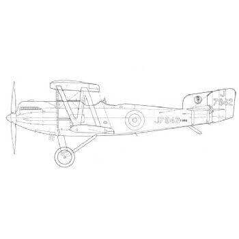 Fairey Fox Mk. 1 And 1A Line Drawing 2763