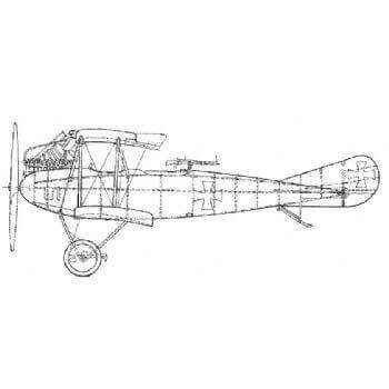 Albatros CIII Line Drawing 2705