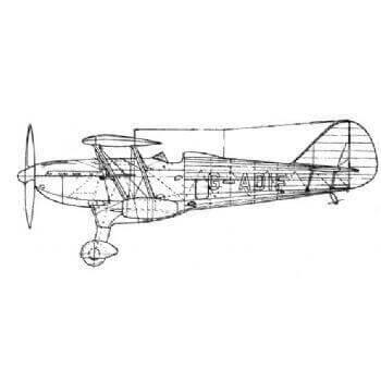Fairey Fantome II Line Drawing 2672