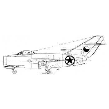 MIG15 Line Drawing 2644