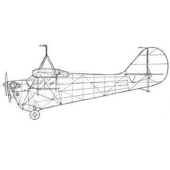 Aeronca 100 Line Drawing 2401