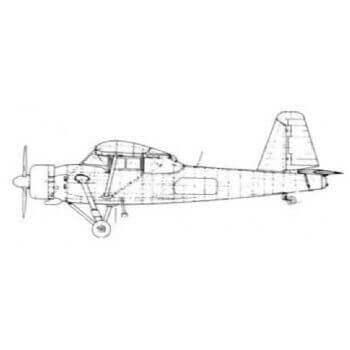Prestwick Pioneer II Line Drawing 2302