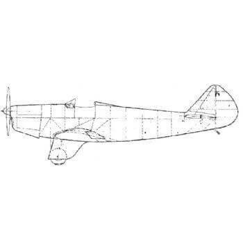 Chilton DW1a Line Drawing 2119