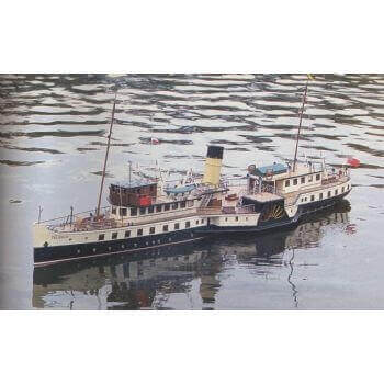 Talisman Plan Paddle Ship MM1493 Plan