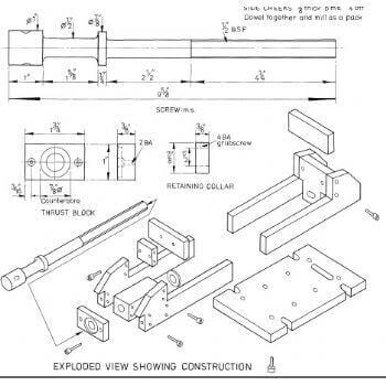 Simple Machine Vice WE50