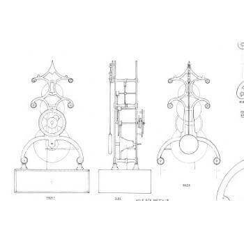 Template For  Skeleton Clock G13A