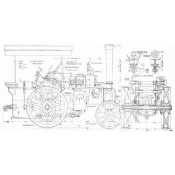 Marshall 5 Ton Steam Wagon TE7