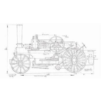 Fowler Class Z7S Ploughing Engine TE30