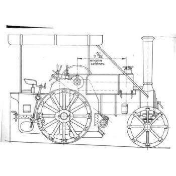 Ruston & Procter 3 Ton Tractor TE27