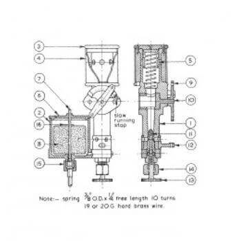 Automatic Carburettor PE11