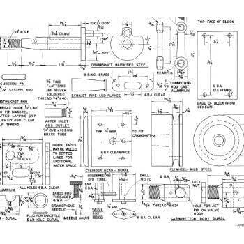 Marine Diesel Engine MM657