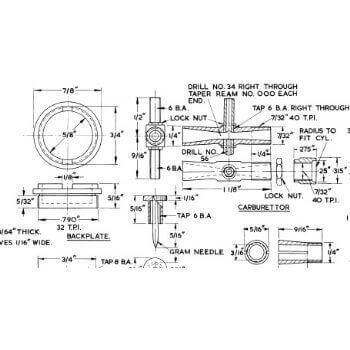 Diesel Engine 1CC MM251