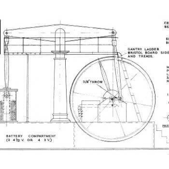 Working Beam Engine